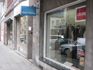 shoppen und nicken die bands erobern die boutiquen belgisches viertel. Black Bedroom Furniture Sets. Home Design Ideas